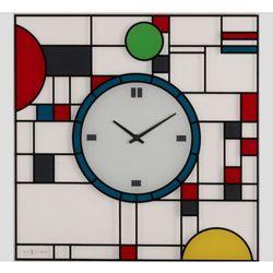 Nextime:: Zegar Ścienny Frank 43 x 43cm, kolor wielokolorowy
