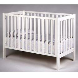 Troll nursery łóżeczko drewniane loft białe 120x60 (4751013121034)