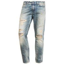 Calvin Klein Jeans SLIM STRAIGHT Jeansy Slim fit destroyed denim