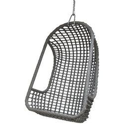HK Living :: Fotel wiszący na zewnątrz szary z kategorii Krzesła ogrodowe