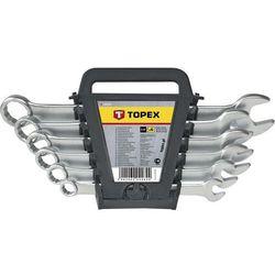 Zestaw kluczy płasko-oczkowych TOPEX 35D755 8 - 17 mm (6 elementów)