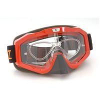 Okulary sportowe Sportviz Motocross, red
