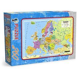 Puzzle 260 - Europa - mapa administracyjna MAXIM - produkt dostępny w TaniaKsiazka.pl