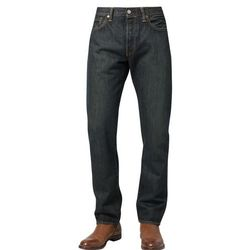 Levi's® 501 JEANS THE ORIGINAL STRAIGHT INT. Jeansy Straight leg dark clean