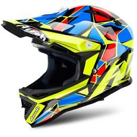 KASK AIROH JUNIOR ARCHER CHIEF BLUE GLOSS