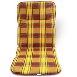 poduszka na krzesło 100x50, kratka marki V-garden