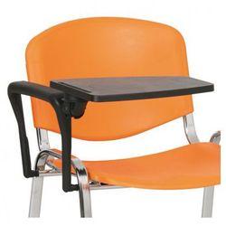 B2b partner Plastikowy stolik z podłokietnikiem