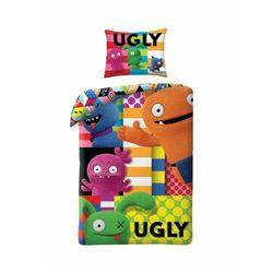 Pościel 140x200cm 1y37ol marki Ugly dolls