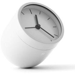 Menu - Zegar stojący z alarmem Norm Tumbler - biały