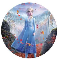 Dekoracyjny opłatek tortowy Frozen 2 - 20 cm