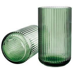 Wazon Lyngby 25 cm transparentny zielony, 201049