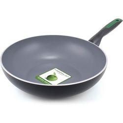 GreenPan patelnia WOK Rio 28 cm, czarna (4895156625551)