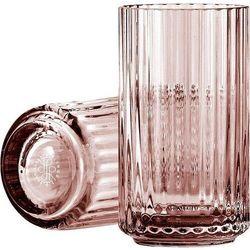 Lyngby Wazon szklany burgundy 12 cm