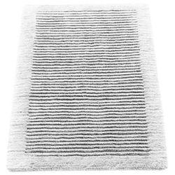 Cawo Dywanik łazienkowy  ręcznie tkany 100 x 60 cm biały