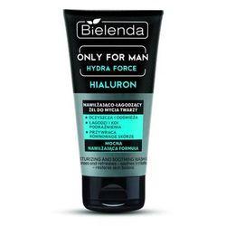 Bielenda Only for men hydra force hyaluron nawilżająco-łagodzący żel do mycia twarzy 150g