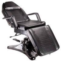 Fotel kosmetyczny hydrauliczny bd-8222 czarny marki Beauty system