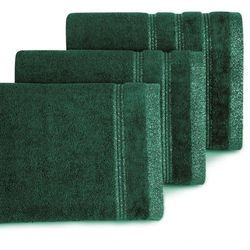 Ręcznik Glory 70x140 Eurofirany ciemny zielony