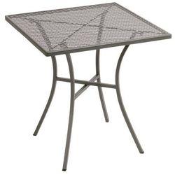 Ażurowy stolik ogrodowy | kwadratowy | różne kolory | 700x700x(H)710mm