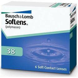 Soczewki Bausch&Lomb Soflens 38 6 sztuk, kup u jednego z partnerów