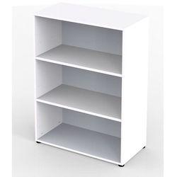 Unbekannt Vera - regał biurowy, 2 półki, szer. 800 mm, biały. praktyczne i niedrogie - moż