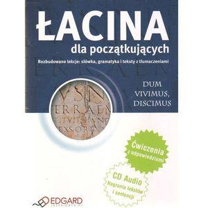 Łacina Dla Początkujących (Książka + Audio Cd) (208 str.)