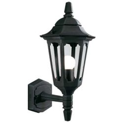Zewnętrzna lampa ścienna parish & parish mini prm1  kinkiet oprawa ogrodowa ip44 outdoor czarna, marki Elstead