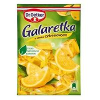 Dr. oetker polska sp. z o.o. Galaretka o smaku cytrynowym 77 g dr. oetker