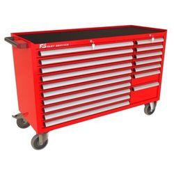 Wózek warsztatowy MEGA z 17 szufladami PM-210-19 (5904054407752)
