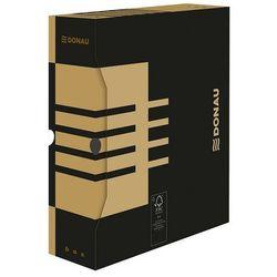 Pudło archiwizacyjne Donau A4 czarne 297x339x100 (7661301), 7661301FSC-02