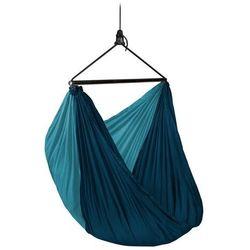 - zunzun river - podróżny fotel hamakowy, niebieski - niebieski marki Lasiesta