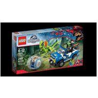 jurassic world zasadzka dilofozaura 75916, marki Lego