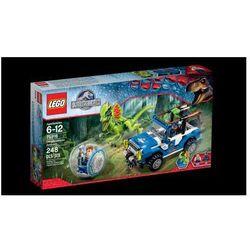 park jurajski zasadzka dilofozaura 75916, marki Lego
