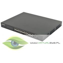 Switch przemysłowy Gigabit z PoE Samsung ieS4024GP (kamera przemysłowa)