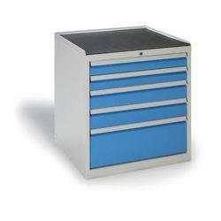 Szafa warsztatowa z szufladami, 5 szuflad