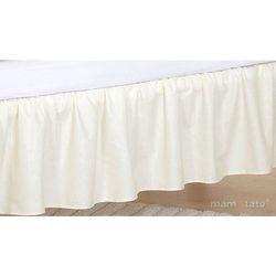 Mamo-tato falbanka do łóżeczka słonik biszkoptowy