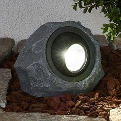 Świecący kamień solarny lior z led marki Lampenwelt.com
