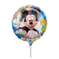 Balon foliowy do patyka myszka mickey - 23 cm - 1 szt marki Amscan