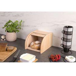 Drewniany chlebak, pojemnik na pieczywo, 23x28x18cm, marki Zeller