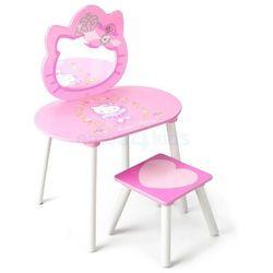 Toaletka dziecięca z krzesełkiem Biurko Stolik Hello Kitty, towar z kategorii: Biurka