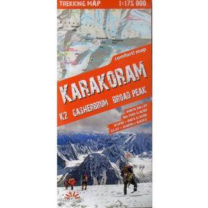 Expressmap Karakorum (Karakoram) laminowana mapa trekkingowa 1:175 000 (9788361155140)