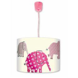 Waldi  lampa sufitowa dg pink elephants, kategoria: oświetlenie dla dzieci