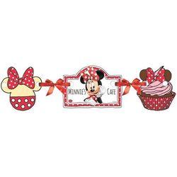 Baner urodzinowy Myszka Minnie Cafe Kawiarenka - 110 cm - 1 szt. (5201184826874)