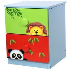 Fantasy fields Sunny safari komoda 2 szuflady