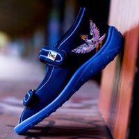 Sandały 'Slipers.pl SRNG', /rozm. 18-27, niebieskie/
