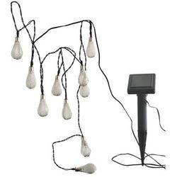 Lampki solarne łezki 10 LED, 304438