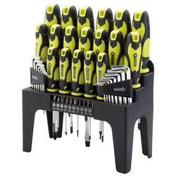 44-częściowy zestaw wkrętaków, bitów i kluczy imbusowych marki Draper tools