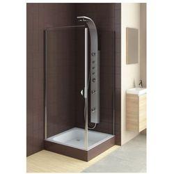 Aquaform  drzwi glass 5 80 uchylne, montaż we wnęce lub ze ścianką 103-06369/103-06367