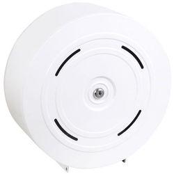 Pojemnik na papier toaletowy 4 rolki Sanitario stal biała