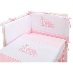 Mamo-tato pościel 3-el sówki uszatki różowe do łóżeczka 60x120cm