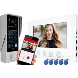 Eura Wideodomofon ip vdp-90a3 delta biały 7'' wifi otwieranie 2 wejść szyfrator czytnik zbliżeniowy (5905548277158)